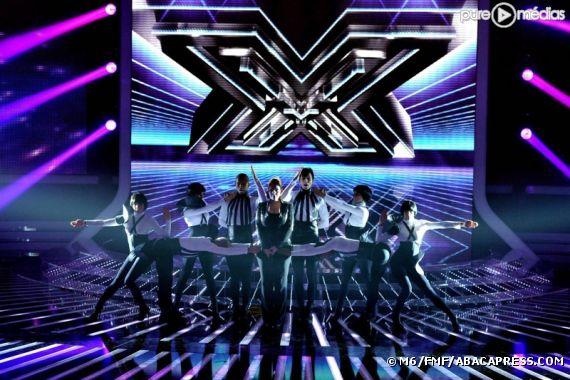 """Le plateau de """"X-Factor"""" sur M6"""