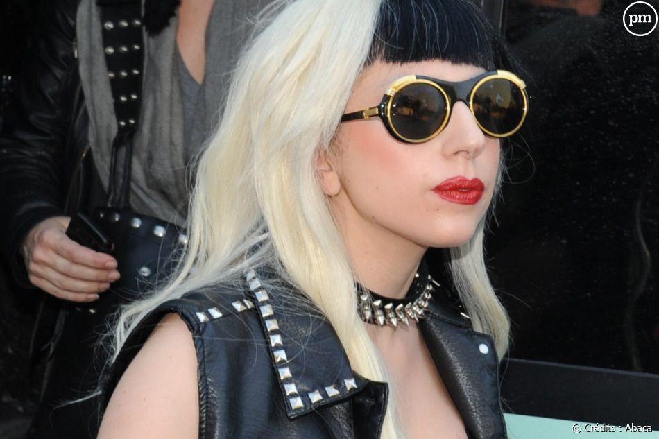 Lady Gaga au Festival de Cannes, le 11 mai 2011.