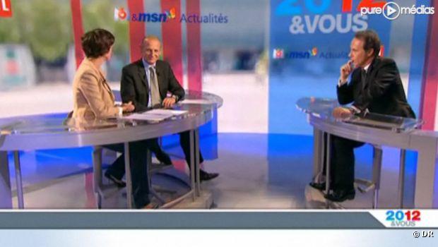 """Le plateau de l'émission """"2012 & Vous"""""""