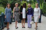 G8 : Carla Bruni fait de l'ombre aux chefs d'Etat