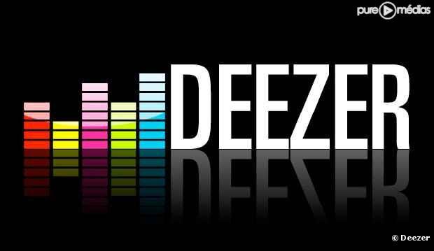 """Le logo de """"Deezer""""."""