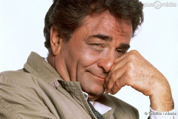 Peter Falk est ''Columbo''