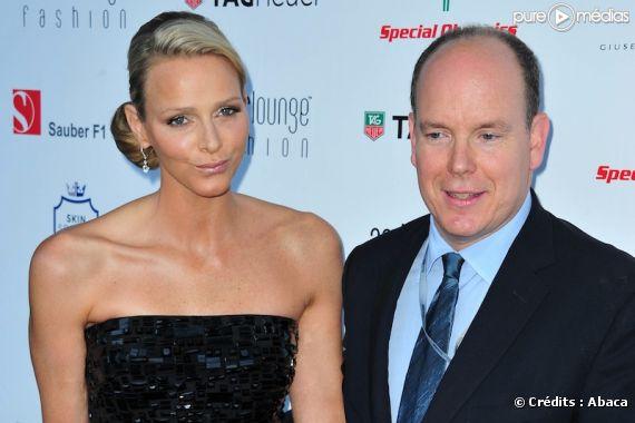 Charlene Wittstock et Albert de Monaco