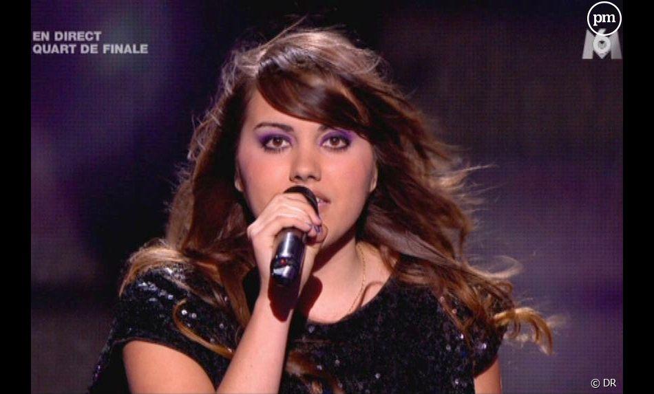 "Marina, finaliste de ""X-Factor"" 2011"
