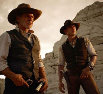 Harrison Ford et Daniel Craig dans 'Cowboys &...