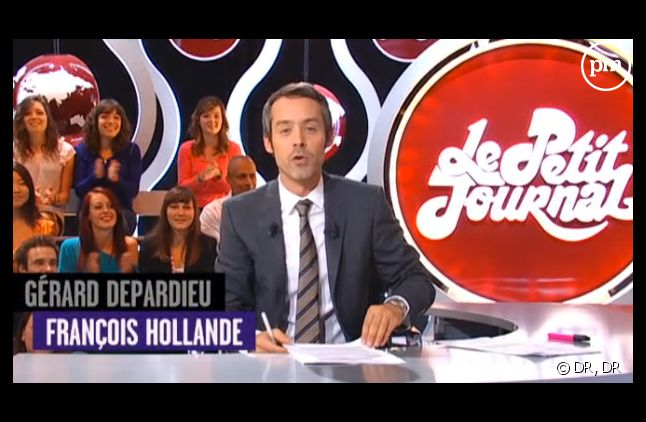 """Yann Barthès présente """"Le petit journal"""" nouvelle formule."""