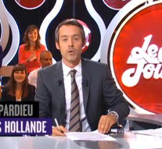 Yann Barthès présente 'Le petit journal' nouvelle formule.