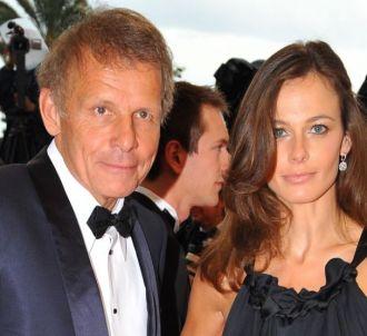 Patrick Poivre d'Arvor et son ex-compagne Agathe Born.