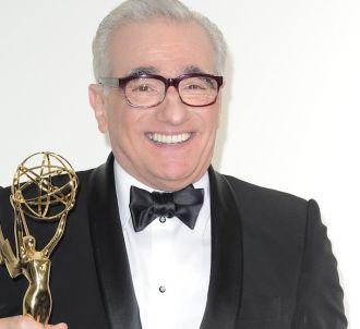Martin Scorsese après sa victoire aux Emmy Awards 2011