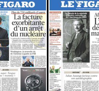 Le Figaro, éditions du 22 et 23 septembre.