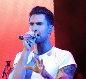 Adam Levine, leader du groupe Maroon 5