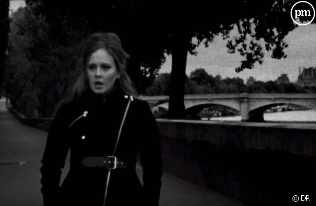 "Adele dans le clip de ""Someone Like You"""