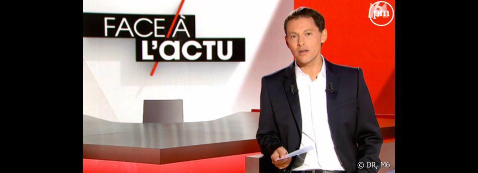 """La première de """"Face à l'actu"""" sur M6."""