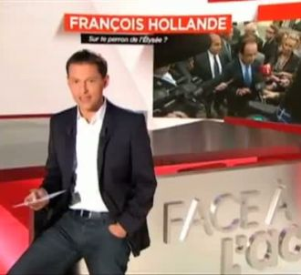 La première de 'Face à l'actu', le 2 octobre 2011 sur M6