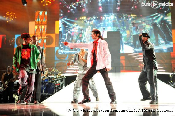 "Michael Jackson répète ses concerts de Londres dans le film ""This Is It"""