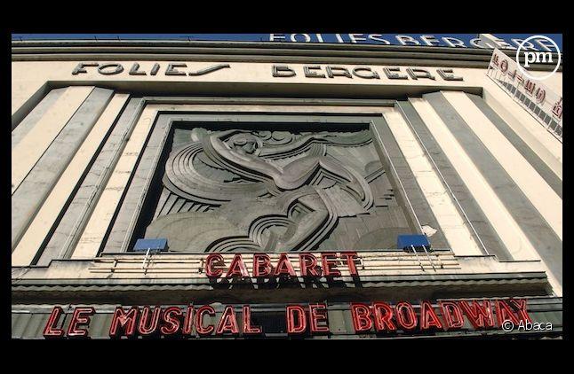"""La salle des """"Folies Bergère"""" à Paris"""