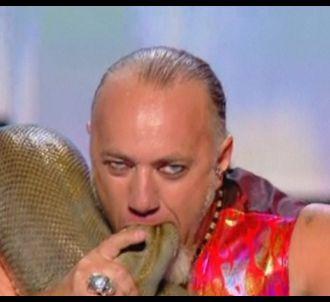Kalidor II et ses serpents dans 'La France a un...