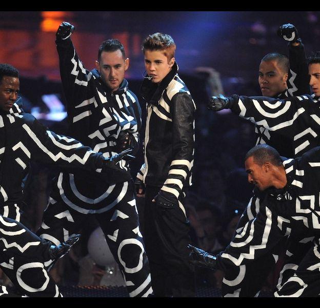 Justin Bieber aux MTV Europe Music Awards 2011