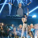 David Guetta et Jessie J aux MTV Europe Music Awards 2011