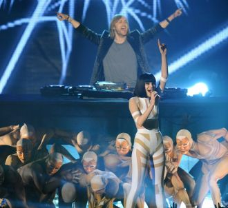 David Guetta et Jessie J aux MTV Europe Music Awards 2011