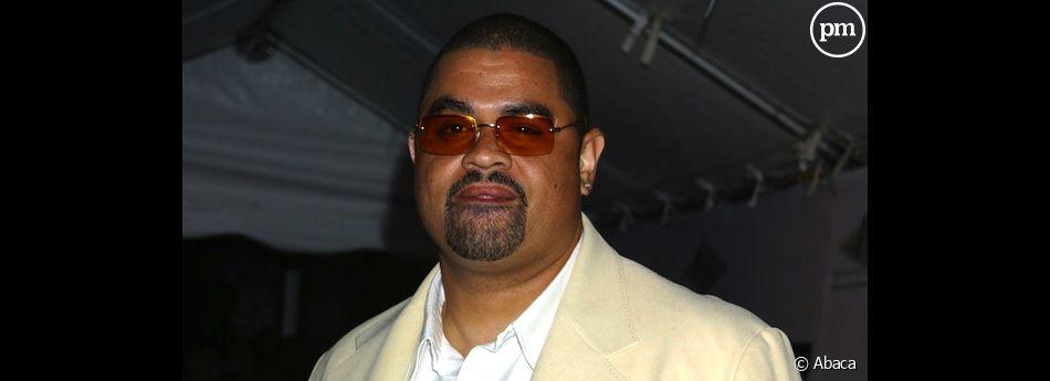 Le rappeur Heavy D, en 2003