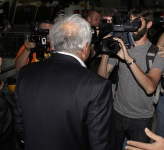 Dominique Strauss-Kahn, traqué par les médias.
