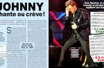 """Chante ou crève !"" lance le magazine ""Capital"" à Johnny Hallyday"