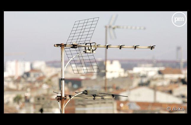 Une antenne-râteau