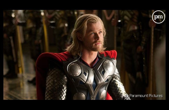"Chris Hemsworth dans ""Thor"""