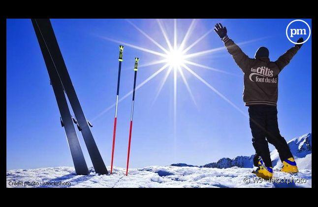 """""""Les Ch'tis font du ski"""" diffusé en 2012 sur W9"""