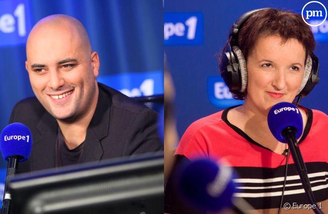 Jérôme Commandeur et Anne Roumanoff