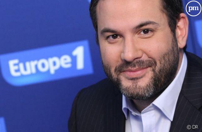 Bruce Toussaint, animateur de la matinale d'Europe 1.