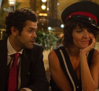 Jamel Debbouze et Florence Foresti dans 'Hollywoo'
