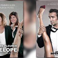 Trois actrices parodient l'affiche du film