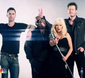 Le jury de 'The Voice' aux Etats-Unis