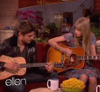 Zac Efron et Taylor Swift chez Ellen DeGeneres