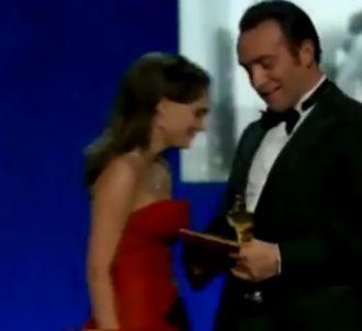 La joie de Jean Dujardin aux Oscars 2012
