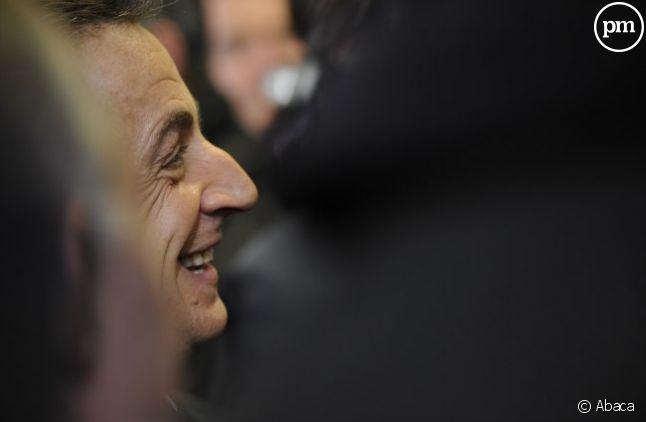 Nicolas Sarkozy, le 24 février 2011.