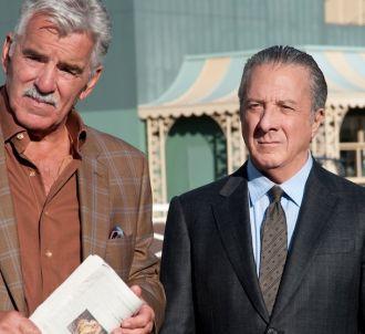 Dennis Farina et Dustin Hoffman dans 'Luck'