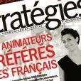 """La Une du """"Stratégies"""" daté du 29 mars 2012"""