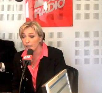 Marine Le Pen s'en prend à Caroline Roux sur Sud Radio