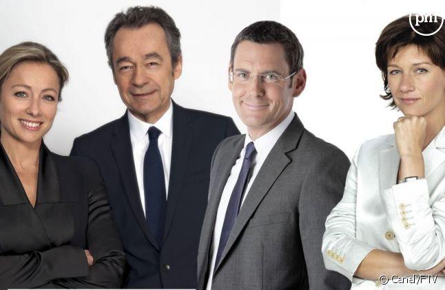 Présidentielle 2012 sur Canal+ et France 3