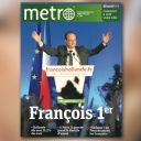 La Une de Métro du 7 mai 2012.