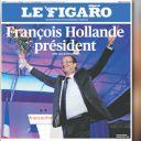 La Une du Figaro du 7 mai 2012.