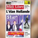 La Une de de Midi Libre du 7 mai 2012.