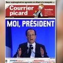 La Une du Courrier Picard du 7 mai 2012.