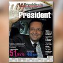 La Une du Républicain Lorrain du 7 mai 2012.