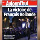 La Une du Parisien/Aujourd'hui en France du 7 mai 2012.