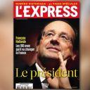La Une de L'Express du 7 mai 2012.