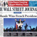 A la Une du Wall Street Journal.